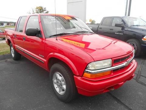 2004 Chevrolet S-10 for sale in Greenville, MI