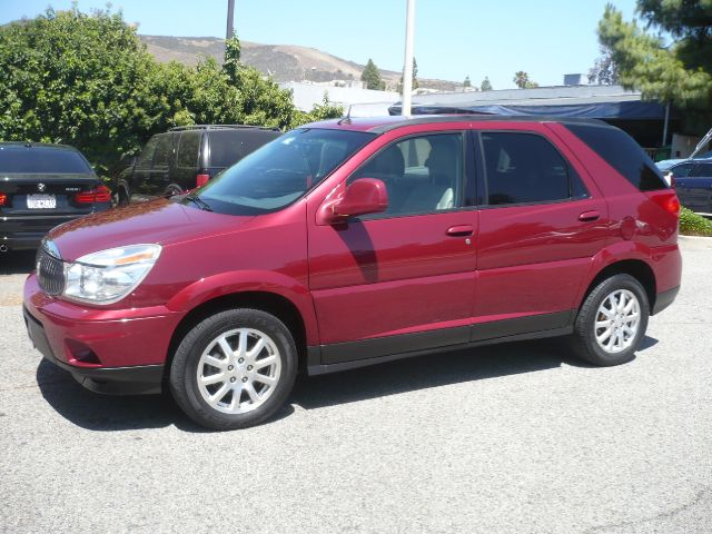 2006 BUICK RENDEZVOUS CXL AWD 4DR SUV red two owner 2006 buick rendezvous cxl 4-door suv this ve