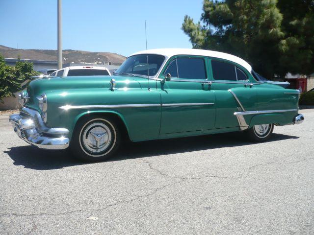 1953 OLDSMOBILE SUPER 88 glade green very clean 1953 oldsmobile super 88 4-door sedan this vehicl