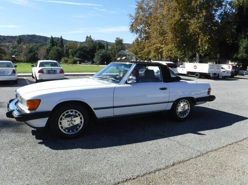 1986 mercedes benz 560 class 560sl 2dr convertible in for Mercedes benz of thousand oaks