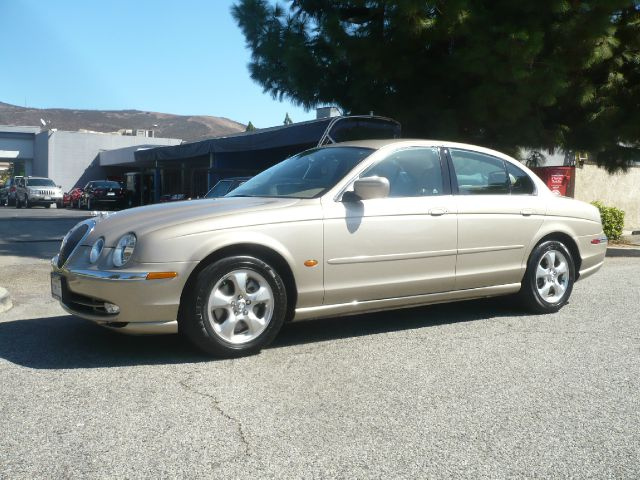 2000 JAGUAR S-TYPE 30 champagne local one owner low mileage 2000 jaguar s-type 4-door sedan th