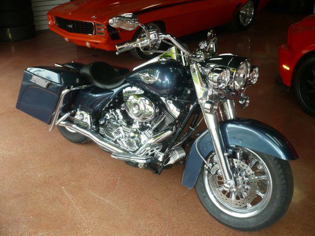 2003 HARLEY-DAVIDSON ROAD KING TOURING blue custom 2003 harley-davidson road king this motorcycl