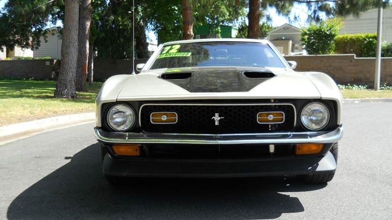 1972 Ford Mustang Mach 1 - Thousand Oaks CA
