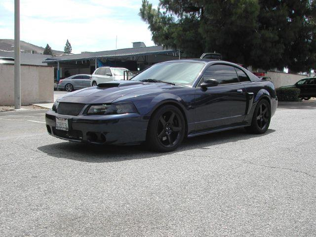 2002 FORD MUSTANG GT DELUXE 2DR COUPE blue highly modified 2002 ford mustang gt 2-door coupe thi