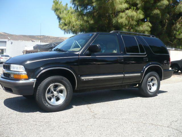 2001 CHEVROLET BLAZER LT 2WD 4DR SUV WONSTAR black local 2001 chevrolet blazer lt 4-door suv th
