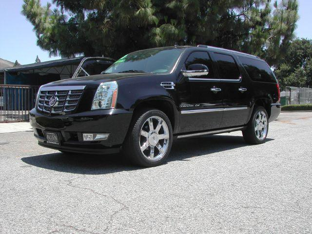 2010 CADILLAC ESCALADE ESV PREMIUM AWD 4DR SUV black local one owner 2010 cadillac escalade esv