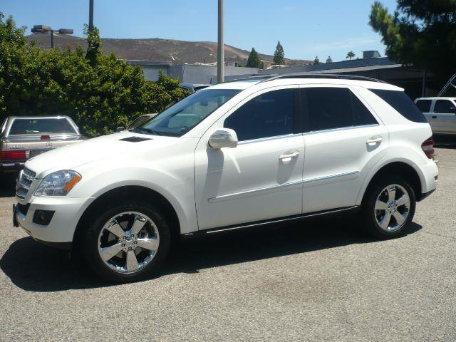 2010 MERCEDES-BENZ M-CLASS ML350 4DR SUV white 2010 mercedes-benz ml350 sport utility 4d  this lo