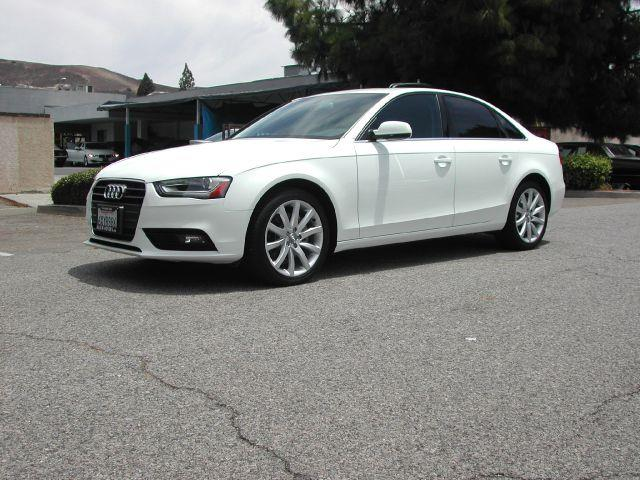 2013 AUDI A4 20T PREMIUM PLUS 4DR SEDAN white 2013 audi a4 premium plus sedan 4d  this one owner