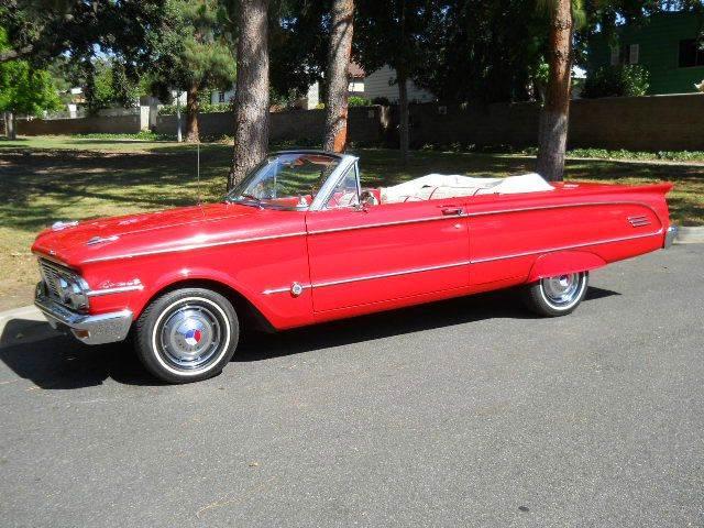 1963 Mercury Comet S-Twenty-Two - Thousand Oaks CA