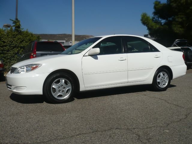 2003 TOYOTA CAMRY LE V6 4DR SEDAN white one owner extra clean 2003 toyota camry le 4-door sedan
