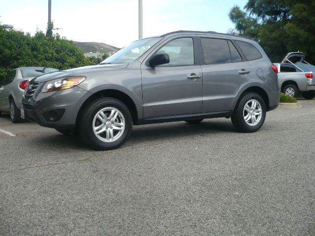 2010 HYUNDAI SANTA FE GLS 24 FWD grey one owner 2010 hyundai sante fe gls 4-door suv this vehic