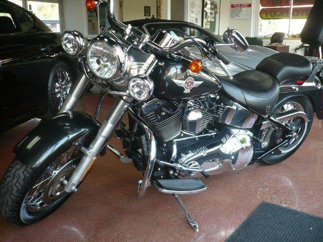 2006 HARLEY-DAVIDSON FAT BOY gray one owner 2006 harley davidson fat boy this motorcycle is equi