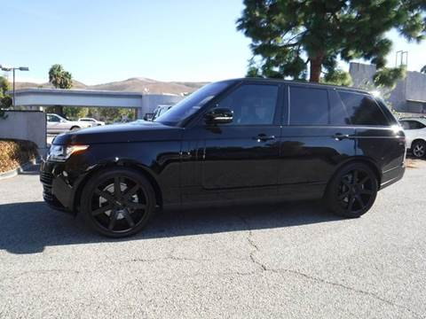 2016 Land Rover Range Rover for sale in Thousand Oaks, CA