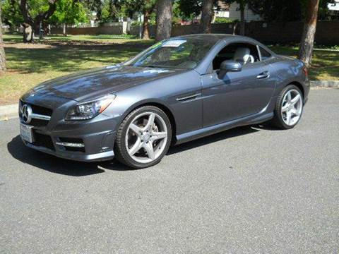 2013 mercedes benz slk for sale california for Allen motors thousand oaks