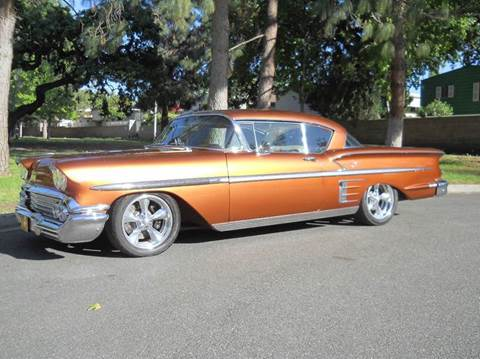 1958 chevrolet impala for sale for Allen motors thousand oaks