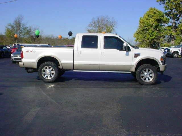 2010 Ford F 250 Super Duty 4x4 King Ranch 4dr Crew Cab 6 8