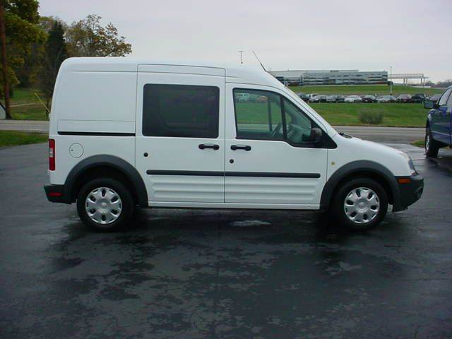 2012 Ford Transit Connect Xl 4dr Cargo Mini Van W Side And