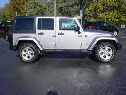 2013 Jeep Wrangler Unlimited for sale in Hillsboro, OH