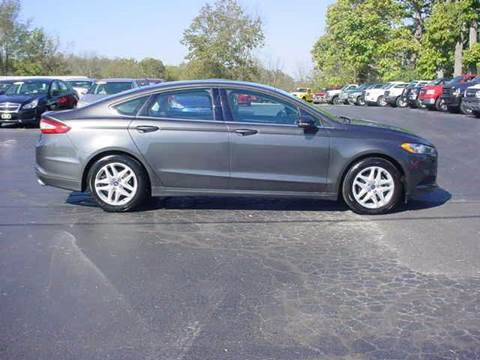 2015 Ford Fusion for sale in Hillsboro, OH