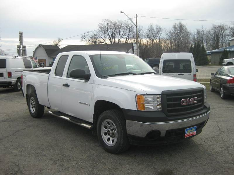 2008 gmc sierra 1500 4wd work truck 4dr extended cab 6 5. Black Bedroom Furniture Sets. Home Design Ideas
