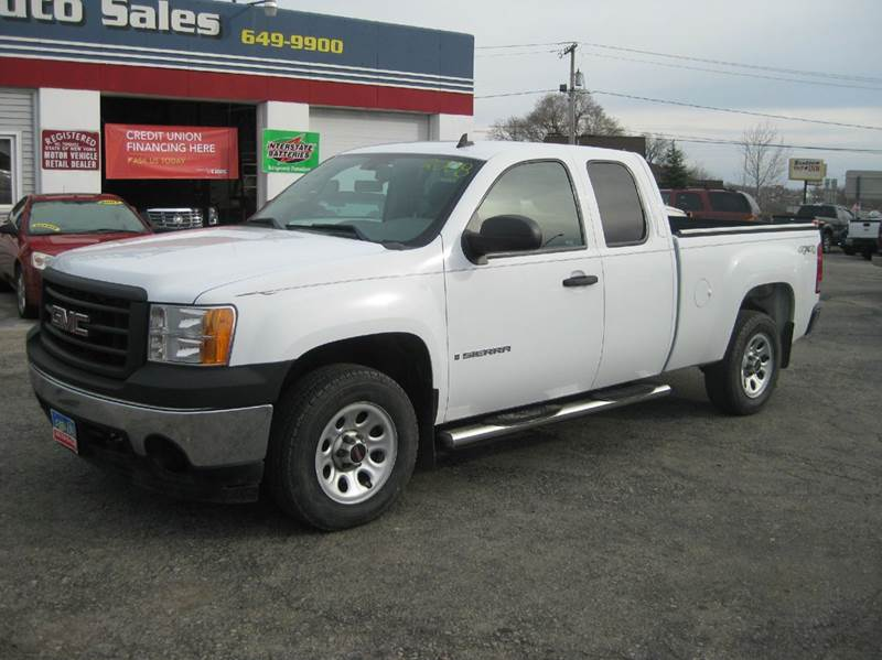 2008 gmc sierra 1500 4wd work truck 4dr extended cab 6 5 ft sb in alden ny peter kay auto sales. Black Bedroom Furniture Sets. Home Design Ideas