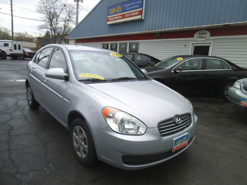 2009 hyundai accent gls 4dr sedan 4a in alden ny peter. Black Bedroom Furniture Sets. Home Design Ideas