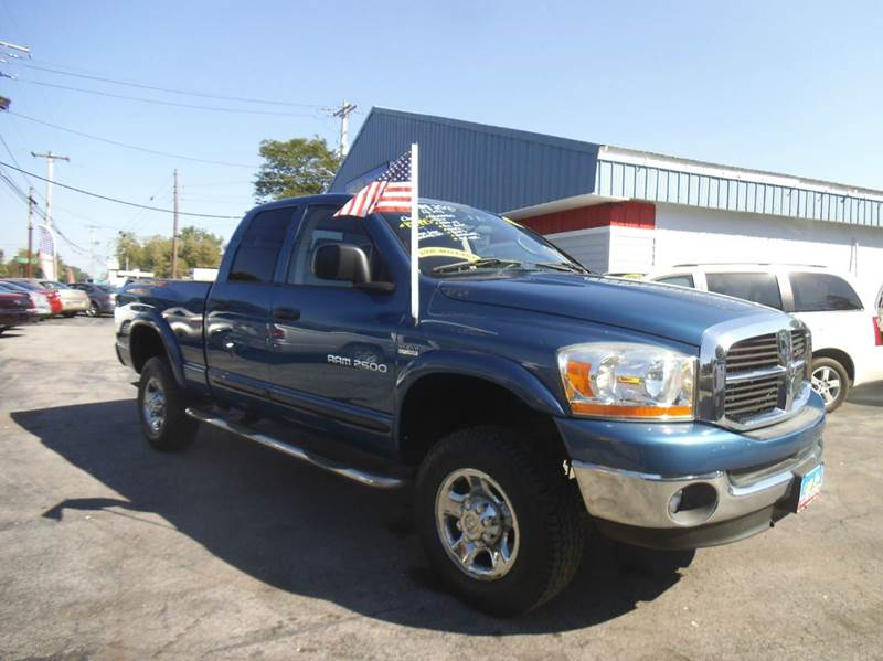 2006 dodge ram pickup 2500 slt 4dr quad cab 4wd sb in alden ny peter kay auto sales. Black Bedroom Furniture Sets. Home Design Ideas