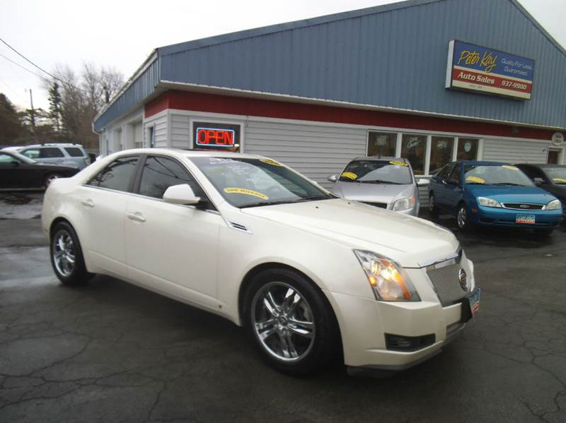 2008 cadillac cts 3 6l v6 4dr sedan in alden ny peter. Black Bedroom Furniture Sets. Home Design Ideas