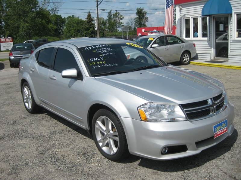 2012 Dodge Avenger SXT Plus 4dr Sedan In Alden NY  Peter Kay Auto