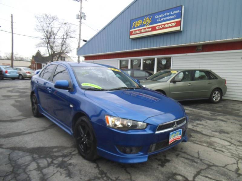 2009 mitsubishi lancer es 4dr sedan cvt in alden ny. Black Bedroom Furniture Sets. Home Design Ideas