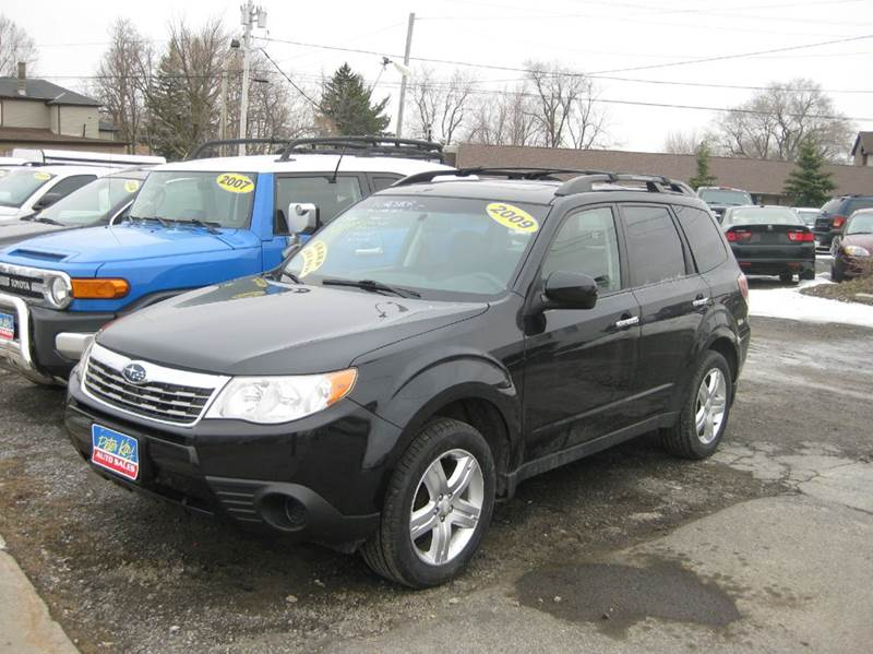 2009 subaru forester 2 5 x premium awd 4dr wagon 4a in alden ny peter kay auto sales. Black Bedroom Furniture Sets. Home Design Ideas