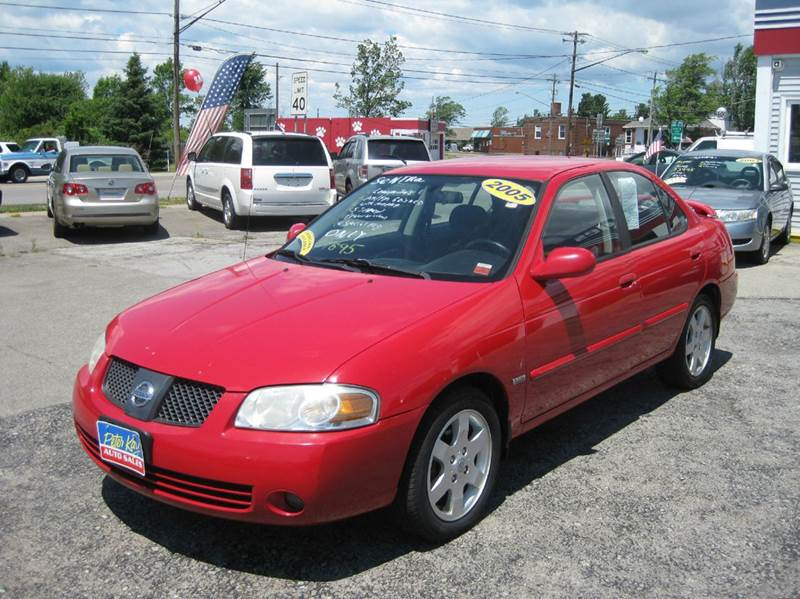 2005 nissan sentra 1 8 s 4dr sedan in alden ny peter kay. Black Bedroom Furniture Sets. Home Design Ideas