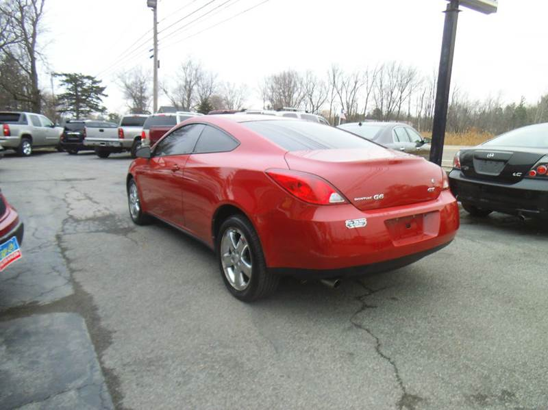 2007 Pontiac G6 Gt 2dr Coupe In Alden Ny Peter Kay Auto