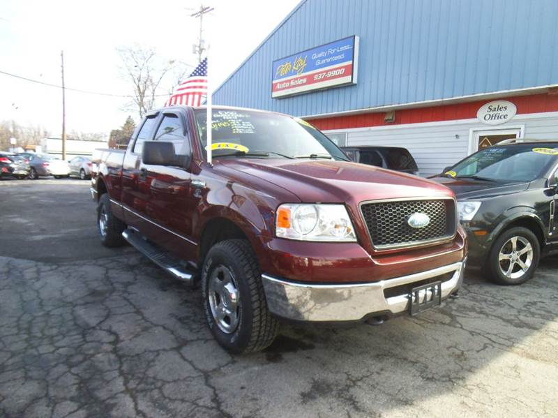 2006 ford f 150 xlt 4dr supercab 4wd styleside 6 5 ft sb in alden ny peter kay auto sales. Black Bedroom Furniture Sets. Home Design Ideas