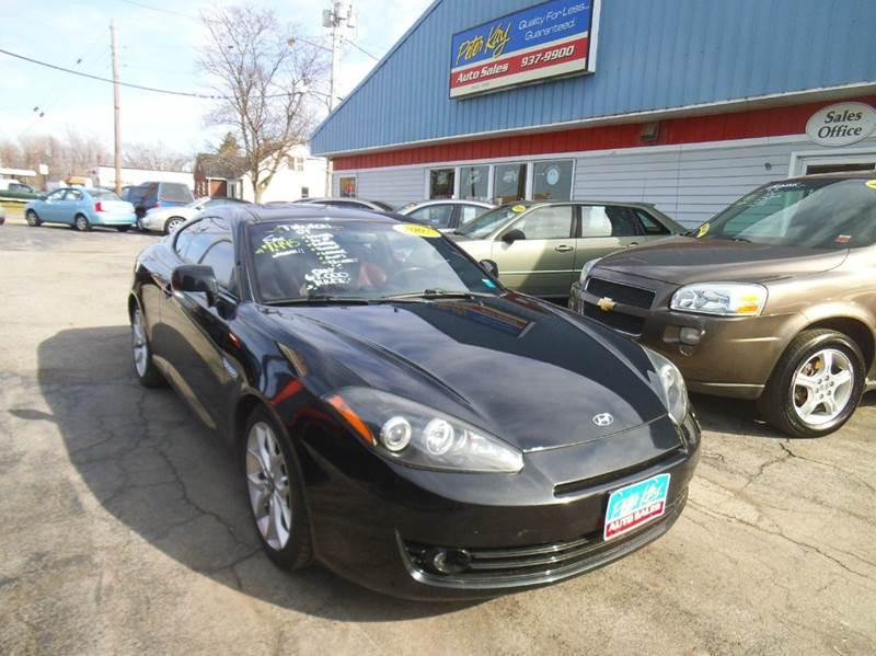 2007 hyundai tiburon gt limited 2dr hatchback 2 7l v6 4a. Black Bedroom Furniture Sets. Home Design Ideas