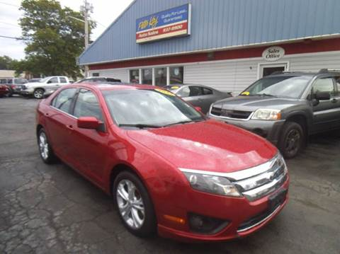 2012 Ford Fusion for sale in Alden Hamburg N.Tonawanda, NY