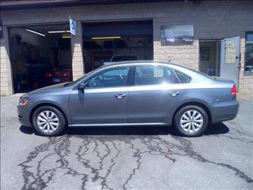 2013 Volkswagen Passat for sale in Bridgeport, CT