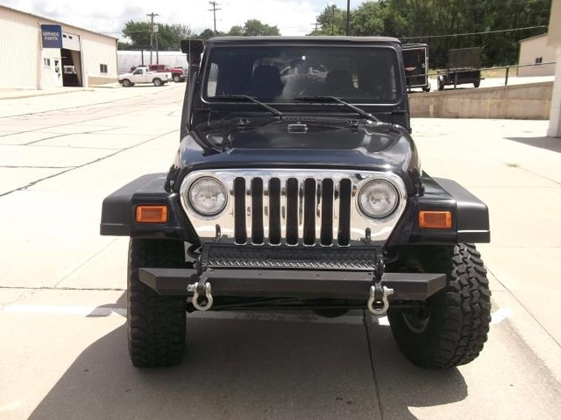 2003 Jeep Wrangler X 4WD 2dr SUV - West Point NE