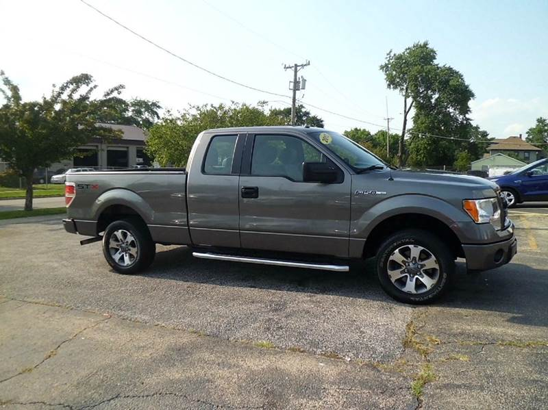 2013 ford f 150 4x2 stx 4dr supercab styleside 6 5 ft sb in aurora il aurora auto ctr inc. Black Bedroom Furniture Sets. Home Design Ideas