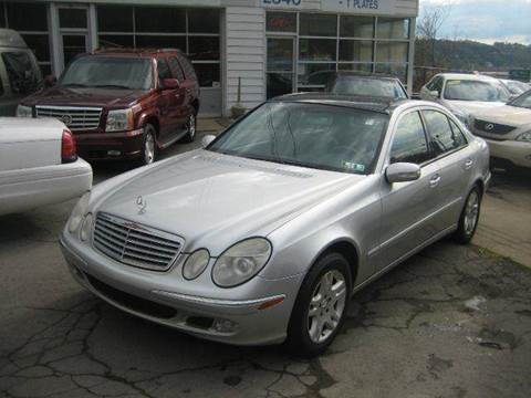 mercedes benz e class for sale in pittsburgh pa. Black Bedroom Furniture Sets. Home Design Ideas