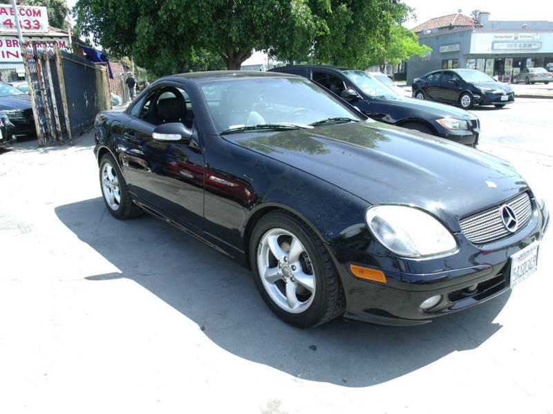 2003 mercedes benz slk slk320 2dr roadster in los angeles for Mercedes benz los angeles dealers