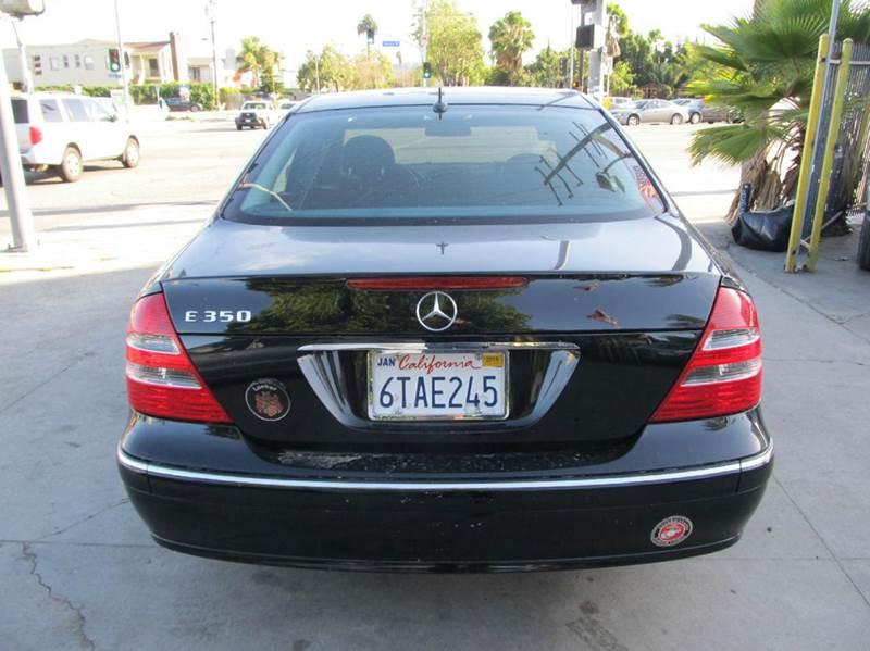 2006 Mercedes-Benz E-Class E 500 4dr Sedan - Los Angeles CA