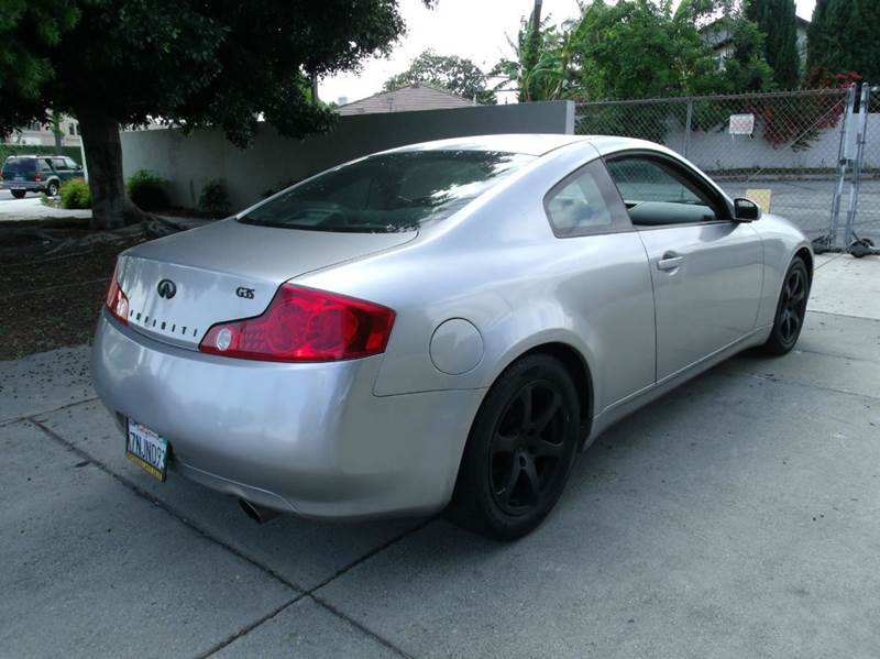 2003 Infiniti G35 2dr Coupe - Los Angeles CA