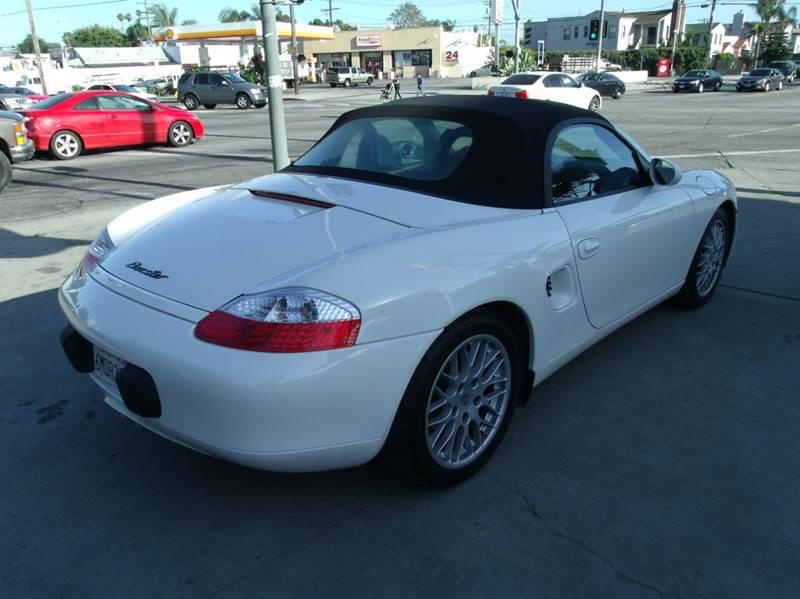 2001 Porsche Boxster 2dr Convertible - Los Angeles CA