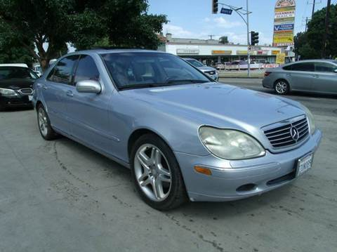 2001 Mercedes-Benz S-Class for sale in Los Angeles, CA