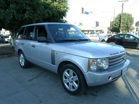 2004 Land Rover Range Rover for sale in Los Angeles, CA