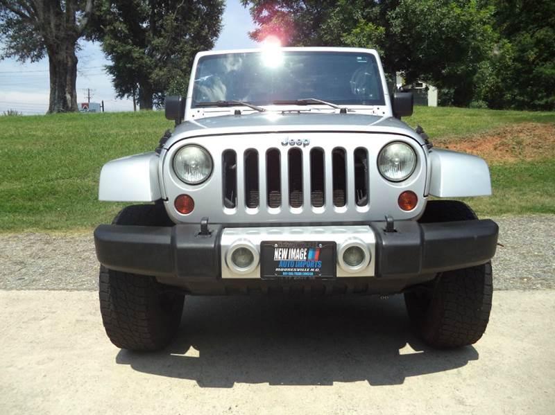 2009 Jeep Wrangler 4x4 Sahara 2dr SUV - Mooresville NC