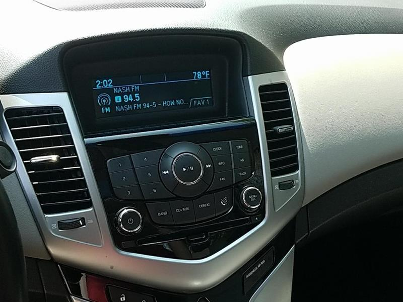 2012 Chevrolet Cruze LT 4dr Sedan w/1LT - Allendale MI