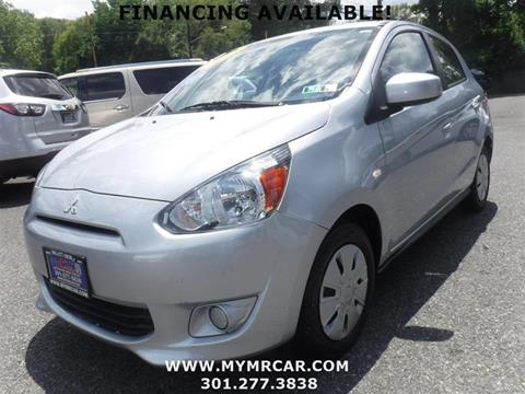 2015 Mitsubishi Mirage for sale in Brentwood, MD