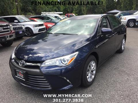 2016 Toyota Camry for sale in Brentwood, MD